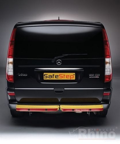 Mercedes Vito Rear Step 2003 (incl.2015) to 2018 Rhino Yellow Twin (No Sensors) SafeStep™
