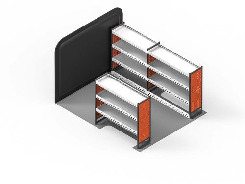 Transit Custom (L1,H1) - 3 Shelf Maxim Full Van Rack Kit
