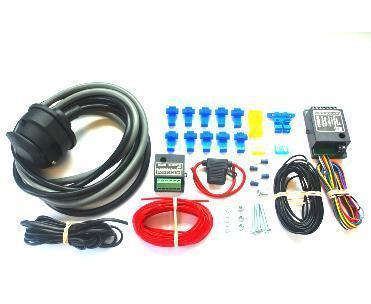 "13 pin ""Double"" (12N & 12S) Towing Electrics Kit With Bypass & Self Switch Relay"