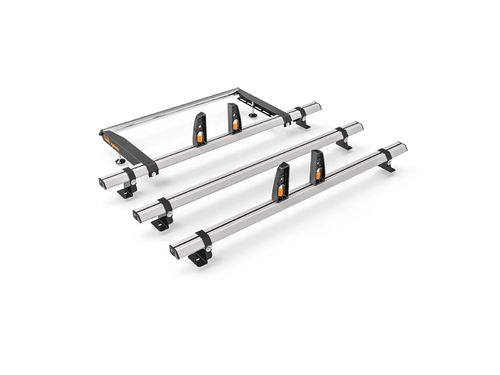 Fiat Scudo 2007-16 - 3 Bar & Roller VECTA Roof Rack Kit
