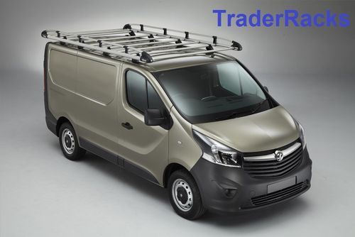 Vivaro H1, L1 Sept 2014 to Jun 2019 Rhino Aluminium Trades Rack
