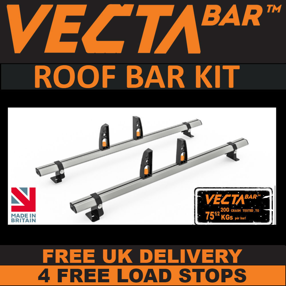 VECTA Bar Roof Rack Kit - Renault Kangoo 2008 Onwards