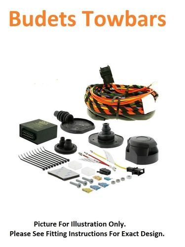 Ford Ranger Pickup Jan 2016> - 13 pin Dedicated Towing Electrics Kit