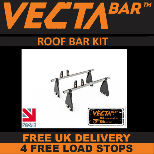 VECTA Bar Roof Rack Kit - Ford Transit 2000 - 2014