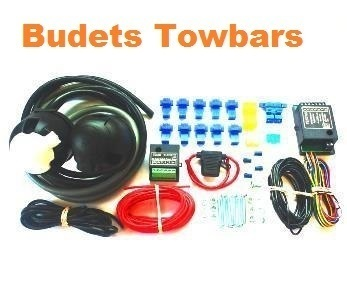 7 Pin Double (12N & 12S) with Bypass & Switch Charge RelayTowing Electrics Kit