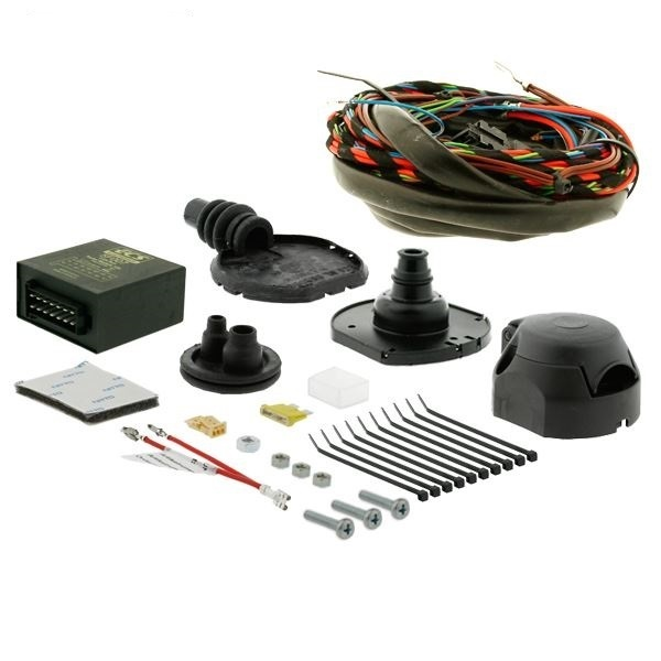 Audi A4 Saloon (8EC) Jan 2005 - Dec 2007 - 7 pin Dedicated Towing Electrics Kit