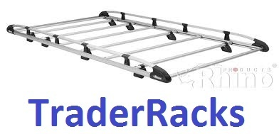 Rhino Aluminium Trade Rack - Peugeot Expert (L1H1) 2016 Onwards