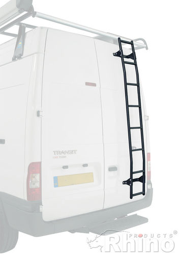 Rhino Rear Door Ladder - Peugeot Boxer 2006 Onwards (Medium/High Roof)