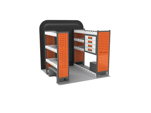 VW Caddy (L1) - Full Interior MAXIM Premium Van Racking Kit