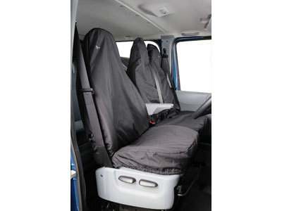 Vehicle Specific Professional Quality Waterproof Van Seat Covers - Ford Transit 2000 - 2014