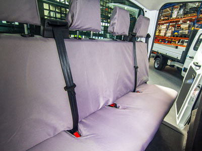 Vehicle Specific Professional Quality Waterproof Van Crew Seat Covers - Transit Tipper 2014 Onwards