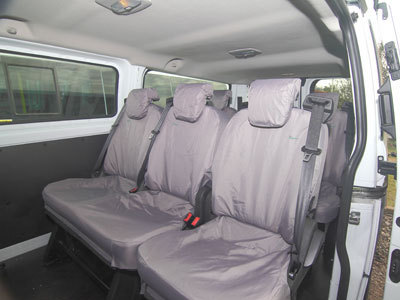 Vehicle Specific Professional Quality Waterproof Crew Seat Covers -Ford Transit Custom Tourneo/Kombi