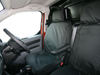 Vehicle Specific Professional Quality Waterproof Van Front Seat Covers - Toyota Proace