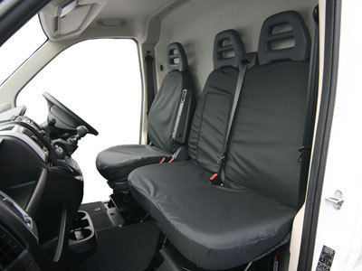 Vehicle Specific Professional Quality Waterproof Van Front Seat Covers - Fiat Ducato