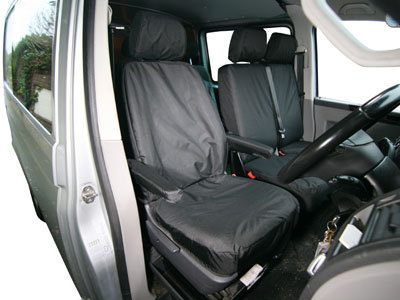 Vehicle Specific Professional Quality Waterproof Van Seat Covers - VW Transporter T5/T6