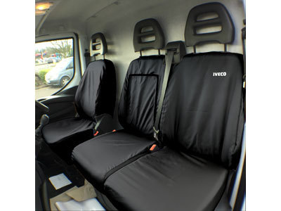 Vehicle Specific Professional Quality Waterproof Van Front Seat Covers - Iveco Daily 2014 Onwards