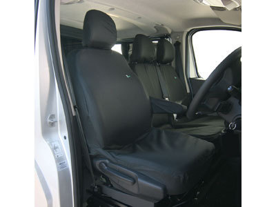 Vehicle Specific Professional Quality Waterproof Van Seat Covers - Renault Trafic 2014 Onwards