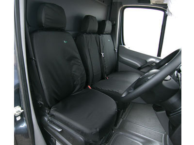 Vehicle Specific Professional Quality Waterproof Van Front Seat Covers - Mercedes Sprinter 2006>