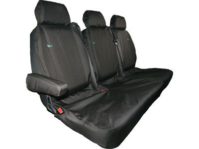 Vehicle Specific Professional Quality Waterproof Seat Covers- Mercedes Vito Treble Folding Rear Seat