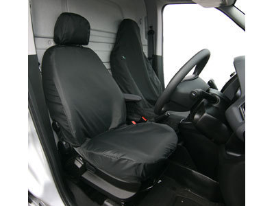 Vehicle Specific Professional Quality Waterproof Van Front Seat Covers - Fiat Fiorino
