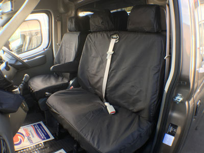 Vehicle Specific Professional Quality Waterproof Van Front Seat Covers - LDV Maxus