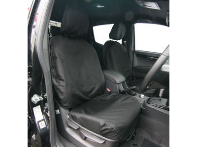 Vehicle Specific Professional Quality Waterproof Van Seat Covers - Isuzu D-Max 2012 Onwards