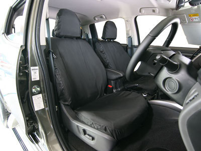 Vehicle Specific Professional Quality Waterproof Van Seat Covers - Fiat Fullback
