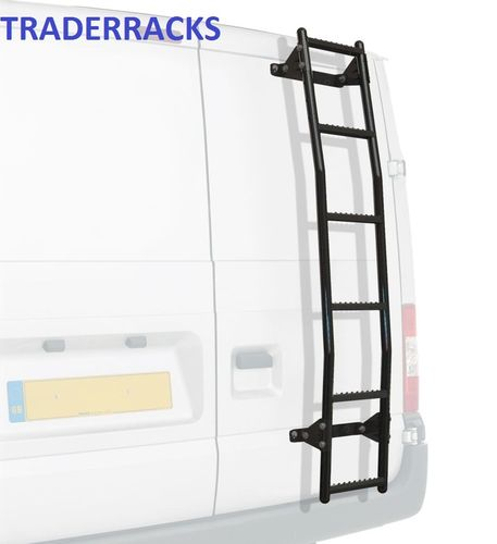 Rhino Rear Door Ladder - Toyota Hiace Power Van 1997 Onwards