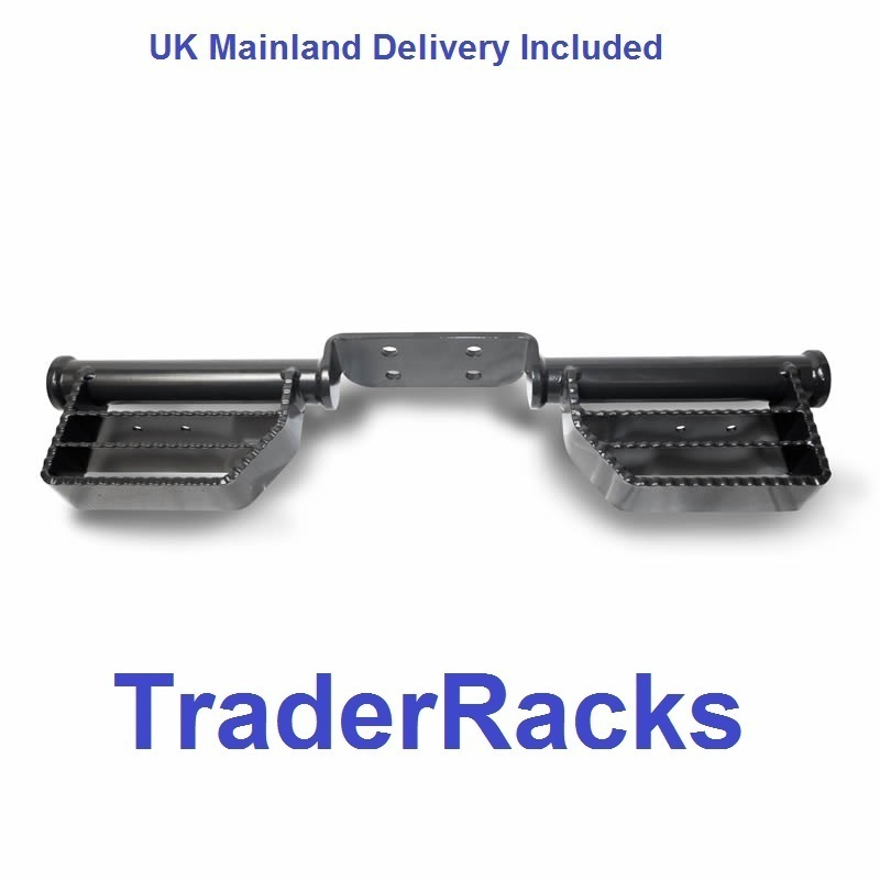 Van Rear (Tow Bar Mounting) Access Steps - Universal Fitting Tow Trust Step - Heavy Duty