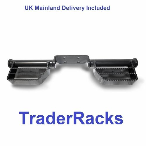 Heavy Duty Van Rear (Tow Bar Mounting) Access Steps Tow Trust Step