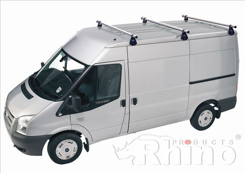 Rhino Delta Roof Bar Kit - Ford Transit 2000 - 2014 (Med Roof, MWB)