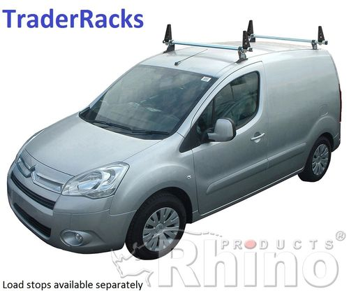 Citroen Berlingo 2018 to 2020  Rhino Delta Roof Rack Bars Kit