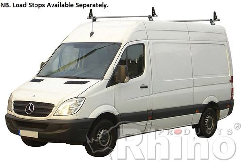 Mercedes Sprinter 2006 Onwards (Inc. New 2018 Models) - Rhino Delta Roof Bar Kit