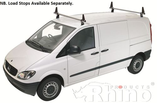 Mercedes Vito (2015 On>) Roof Bars Rhino Delta Roof Bar + Deflector