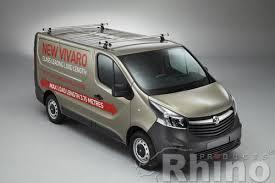 Vauxhall Vivaro Roof Bars 2014 to June 2019 Rhino Delta Roof Rack Bars
