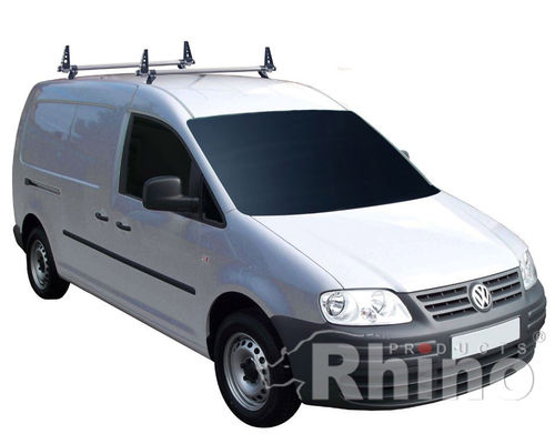 VW Caddy 2010 Onwards - Rhino Delta Roof Bar Kit