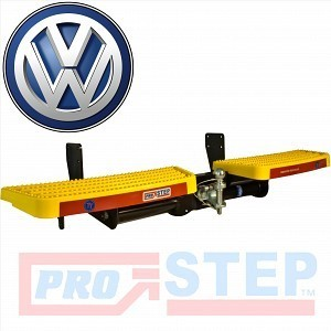 VW Crafter 2017> (SRW) - Tow Trust Towing Yellow PRO Step & 7 pin Electrics Kit