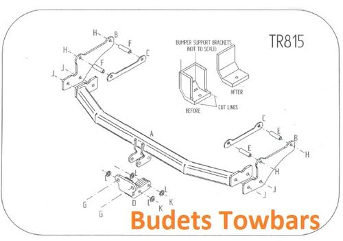 Renault Modus 2004 - 2012 - Tow Trust Flange Towbar