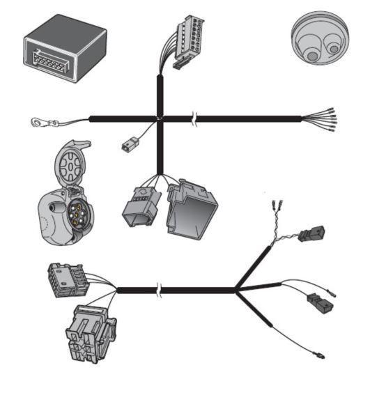 Vw Tiguan Allspace Towbar Wiring Jun, Vw Transporter T6 Tow Bar Wiring Diagram