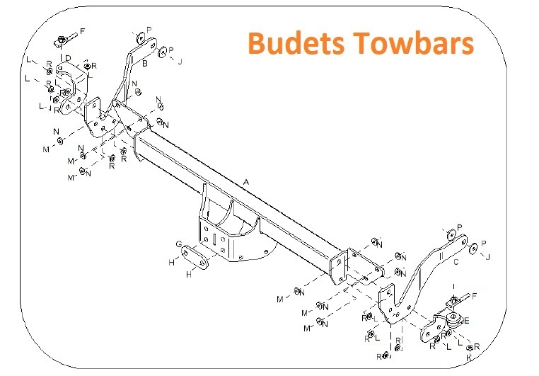 Peugeot Boxer Chassis Cab 2006 Onwards - Tow Trust Flange Towbar