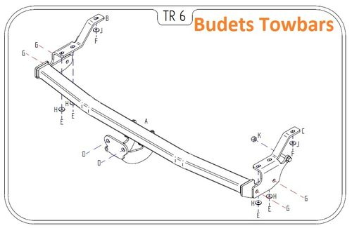Mercedes Citan 2012 Onwards - Tow Trust Flange Towbar