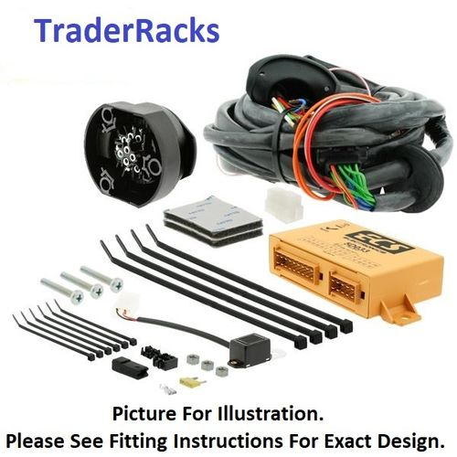 Vauxhall Vivaro Towbar Wiring Sep 2014 to Jun 2019 13 pin Dedicated Electrics Kit