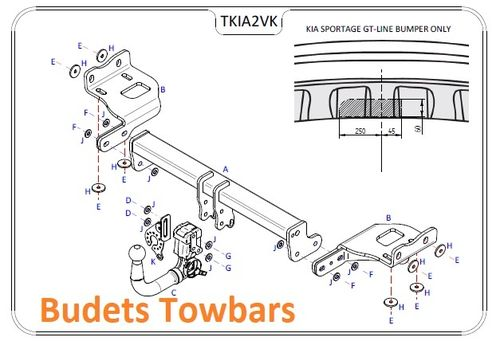 Hyundai Tucson (Not With Adblue) 2015 - 2018 - Tow Trust Detachable Towbar