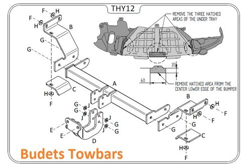 Hyundai i30 Hatch (Not Turbo With Twin Exhaust) 2012 - 2017 - Tow Trust Flange Towbar