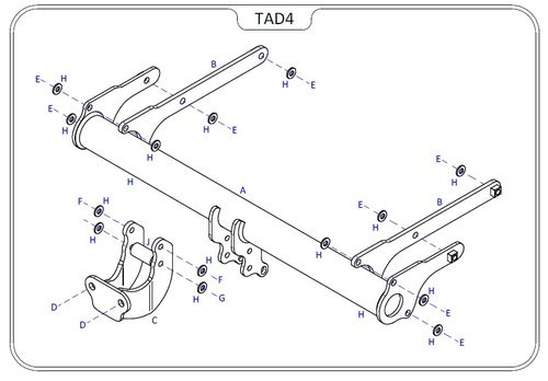 Audi Q5 (FY) (Inc. SQ5) 2017 Onwards - Tow Trust Flange Towbar