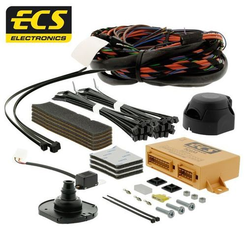Mitsubishi L200 Pickup Towbar Wiring 2015-2019 7 pin Dedicated Towing Electrics