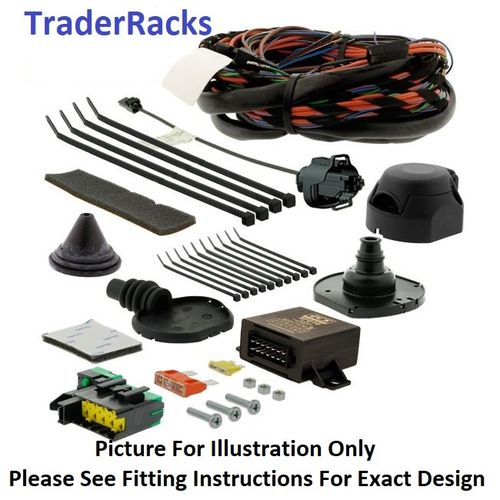 Dec 2018 > 2020 Peugeot Partner 7 pin DEDICATED Tow Bar Electrics Kit