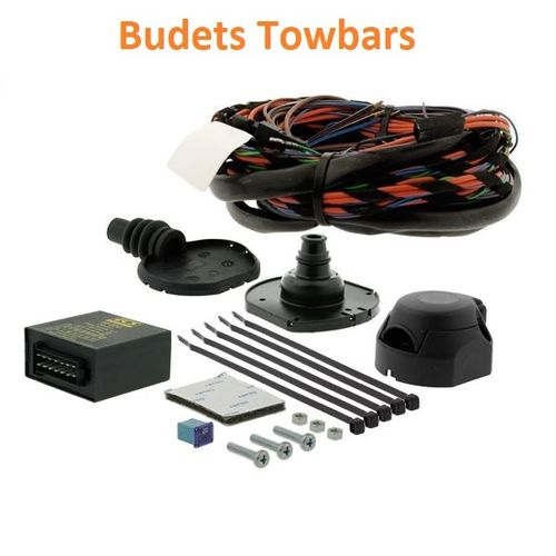 ECS Towbar Electrics for Ford Focus Hatchback 2011-2018 7 Pin Wiring Kit