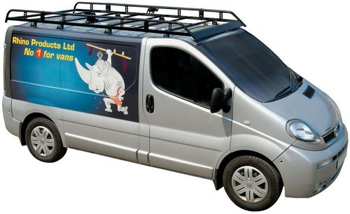 Vauxhall Vivaro Roof Rack H1 2002 > 2014 Rhino Modular Roof Racks Bars